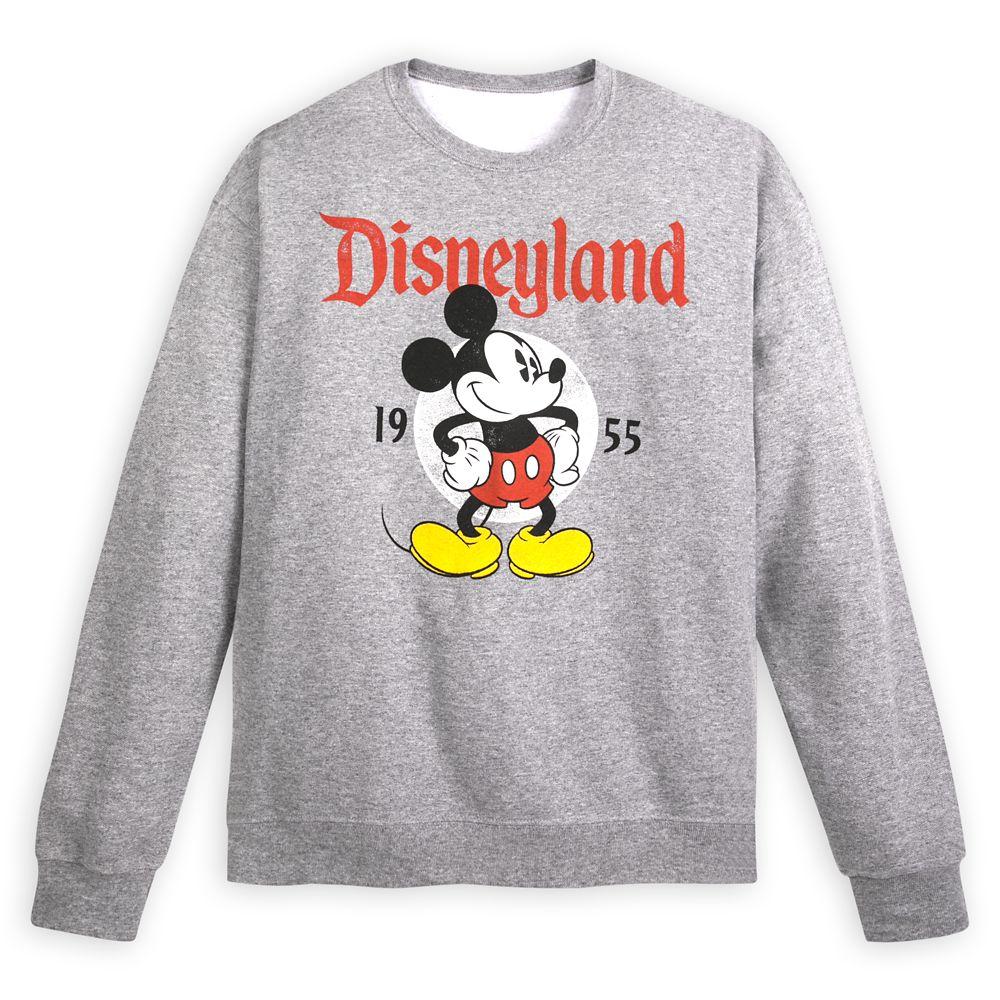 Mickey Mouse Sweatshirt for Adults – Disneyland