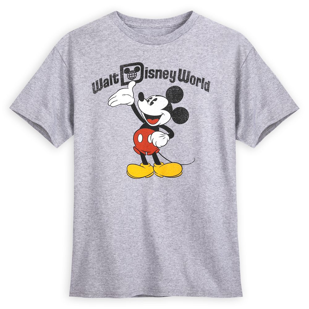 Mickey Mouse Heathered T-Shirt for Men – Walt Disney World