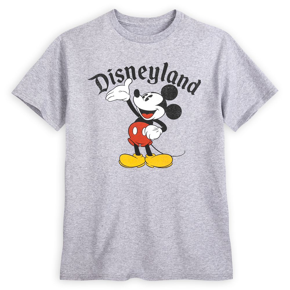 Mickey Mouse Heathered T-Shirt for Men – Disneyland