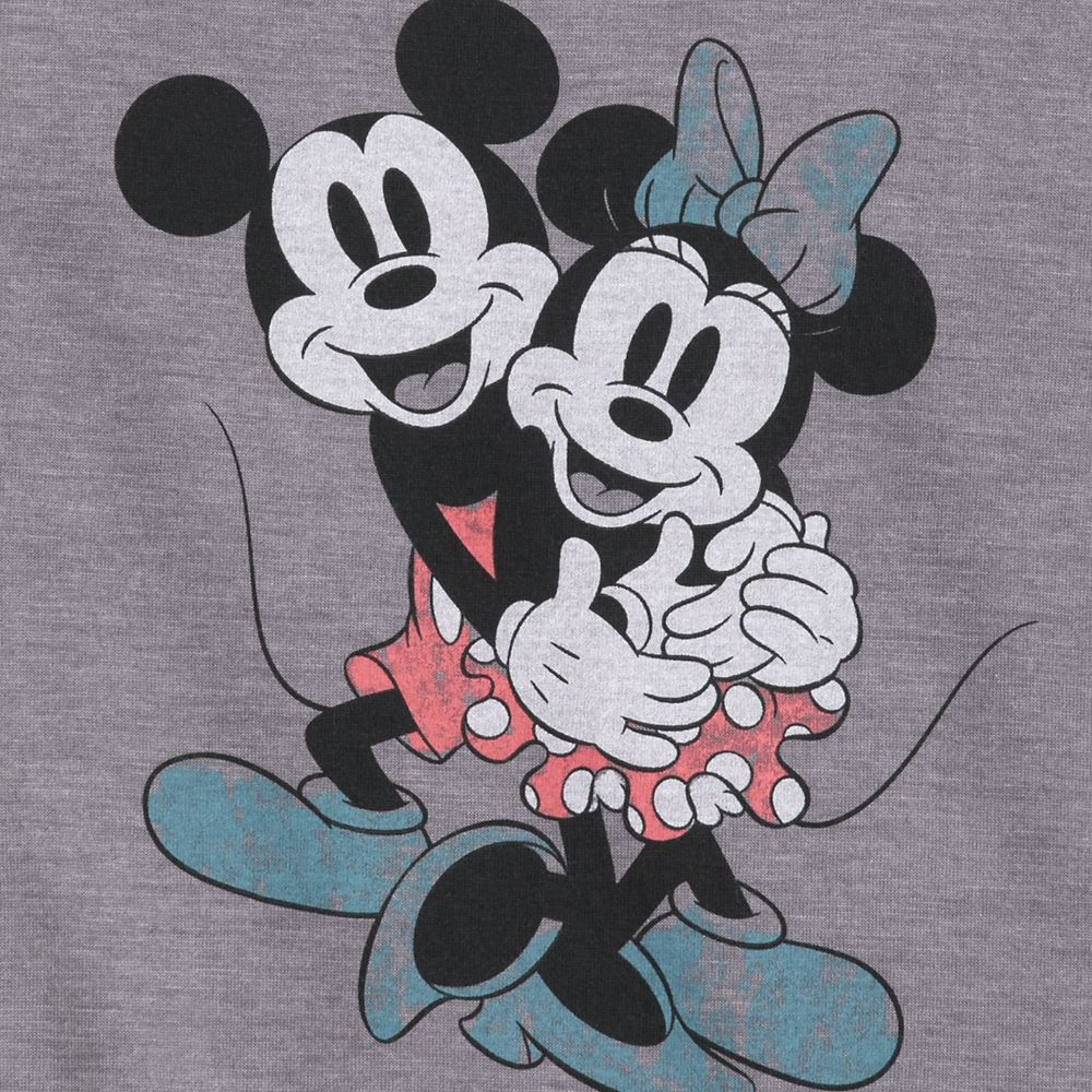 Mickey and Minnie Mouse Scoop Neck Tank Top for Women – Disneyland
