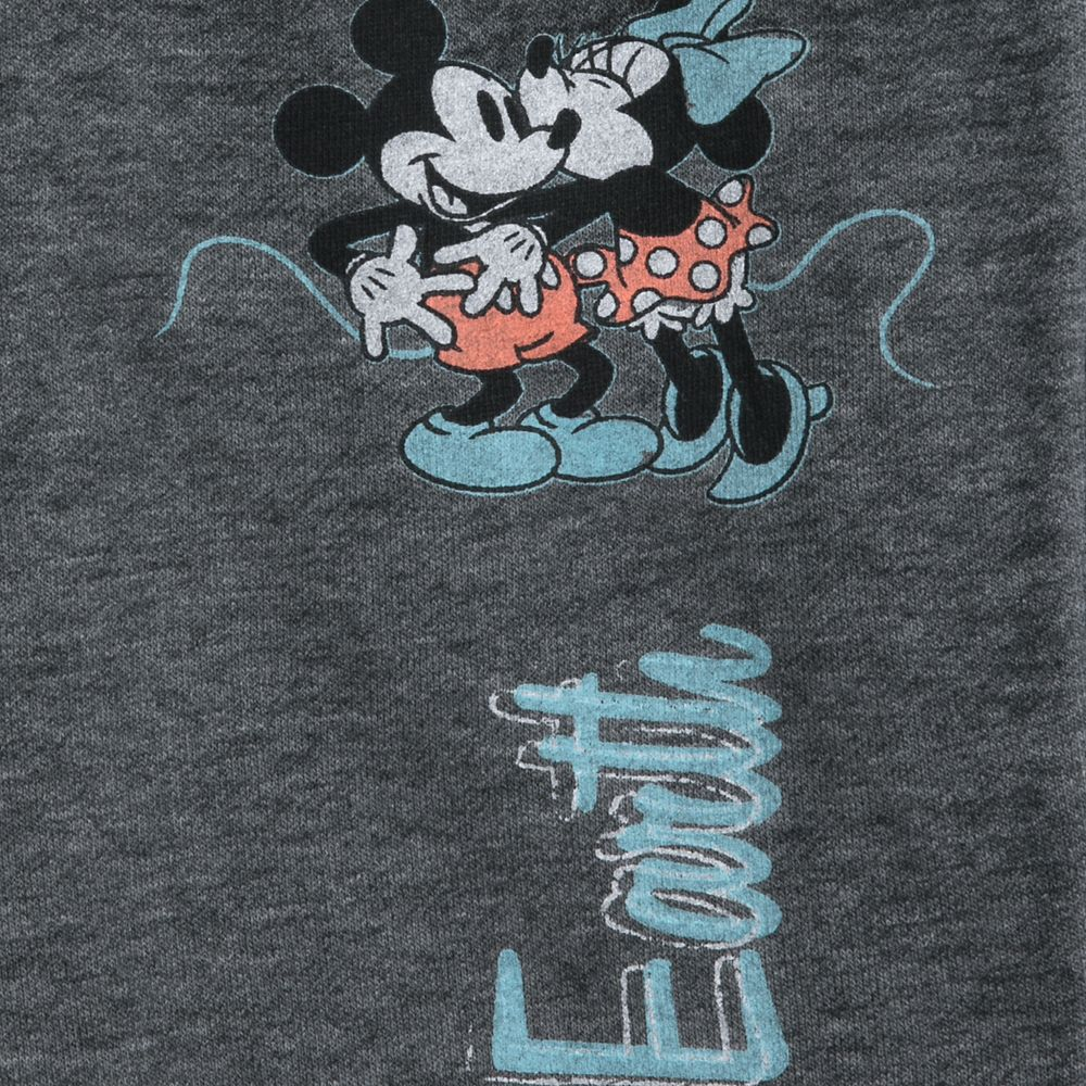 Mickey and Minnie Mouse Kiss Lounge Pants for Women – Walt Disney World
