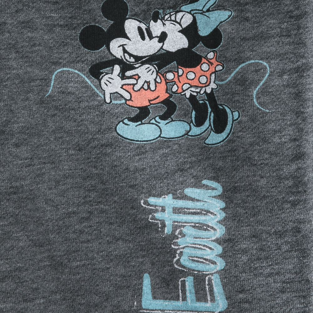 Mickey and Minnie Mouse Kiss Lounge Pants for Women – Disneyland