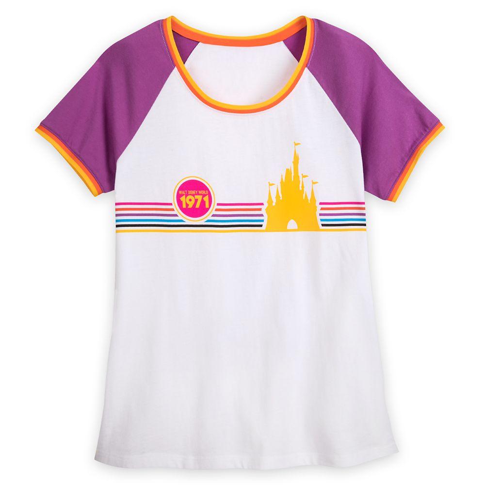 Cinderella Castle Raglan T-Shirt for Women