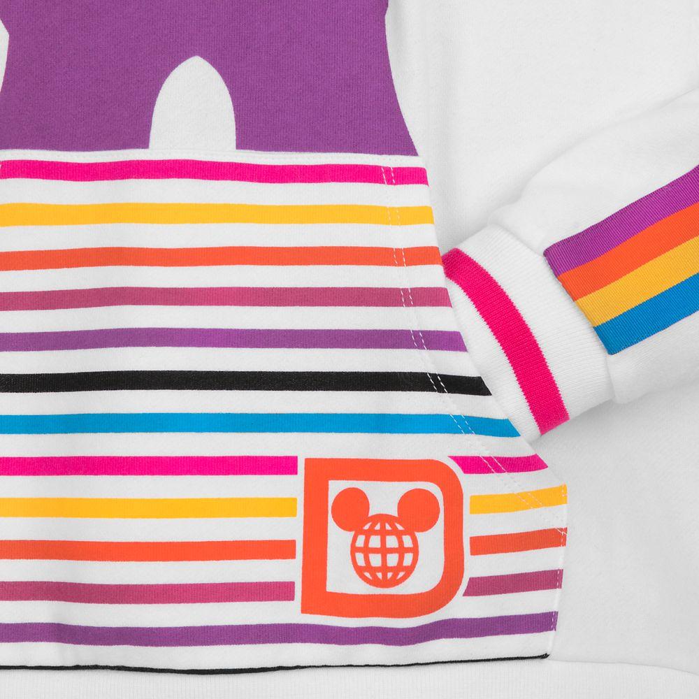 Walt Disney World Retro Stripe Pullover Hoodie for Women