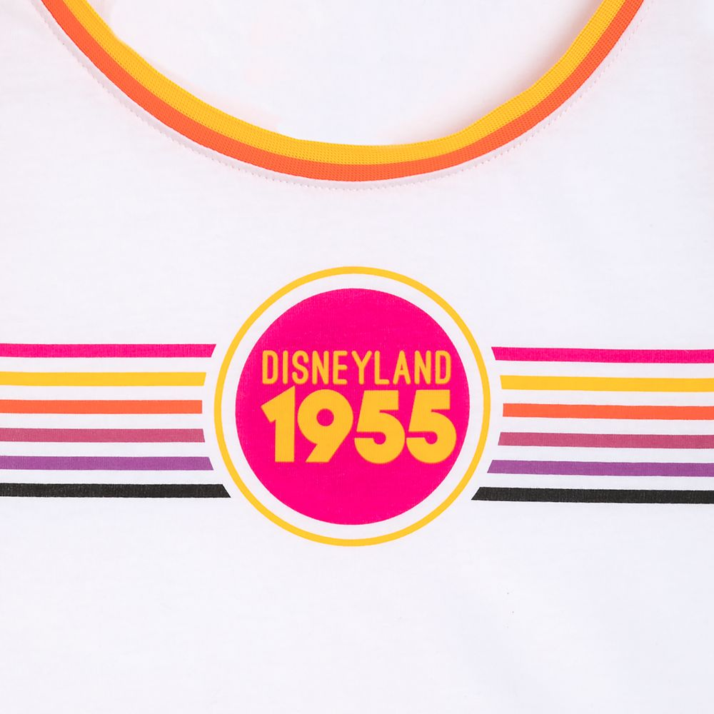 Disneyland Retro Stripe Tanktop for Women