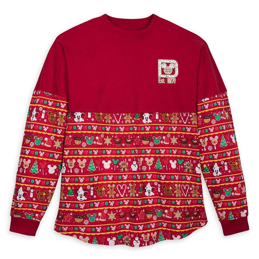 Walt Disney World Holiday Park Foods Spirit Jersey for Adults