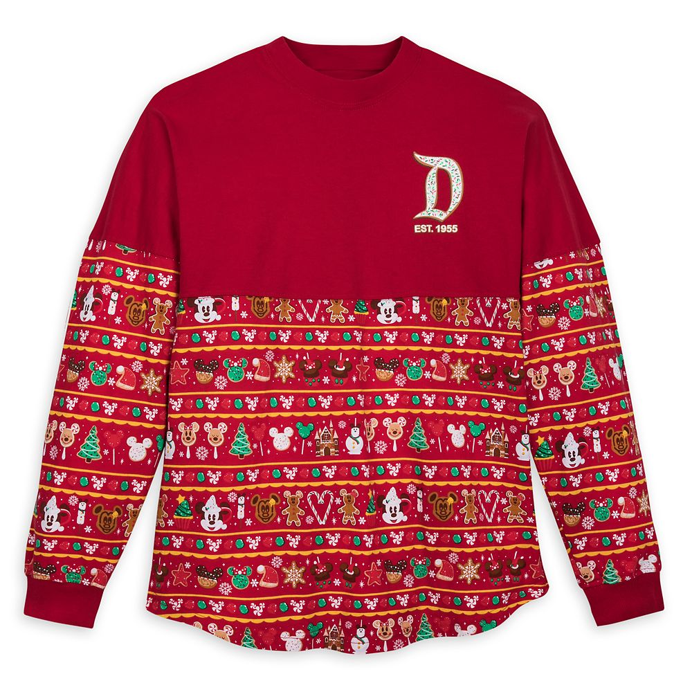 Disneyland Holiday Park Foods Spirit Jersey for Adults