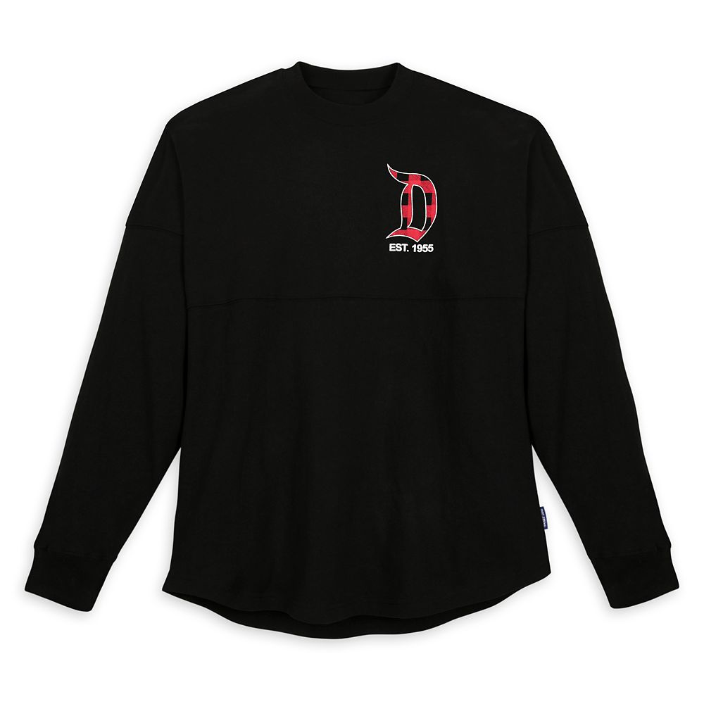 Disneyland Holiday Plaid Spirit Jersey for Adults