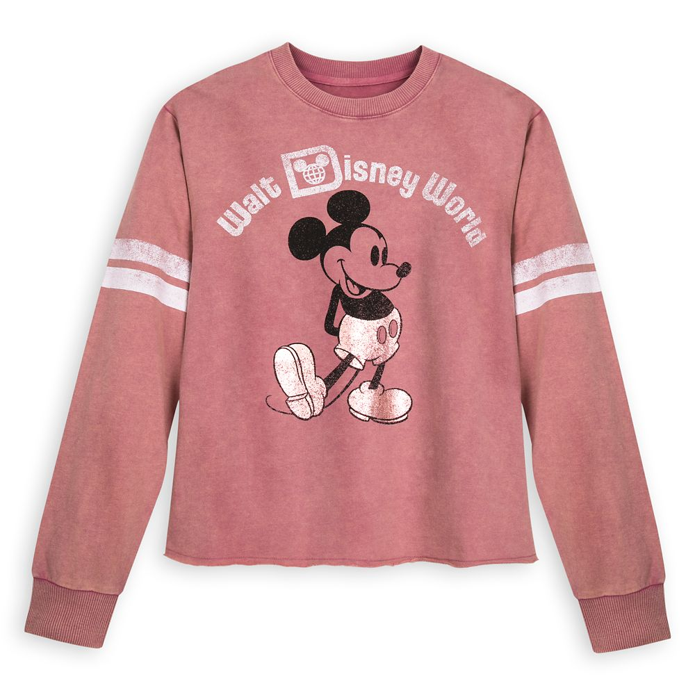 Mickey Mouse Football Jersey for Women – Walt Disney World – Rose Gold