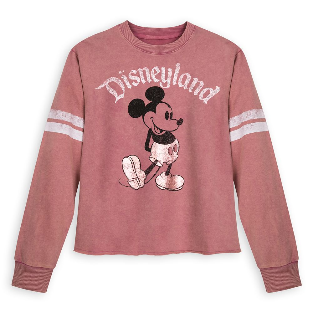 Mickey Mouse Football Jersey for Women – Disneyland – Rose Gold
