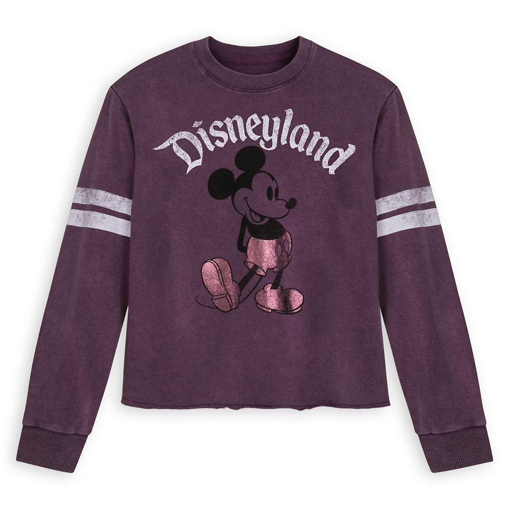 Mickey Mouse Football Jersey for Women – Disneyland – Purple