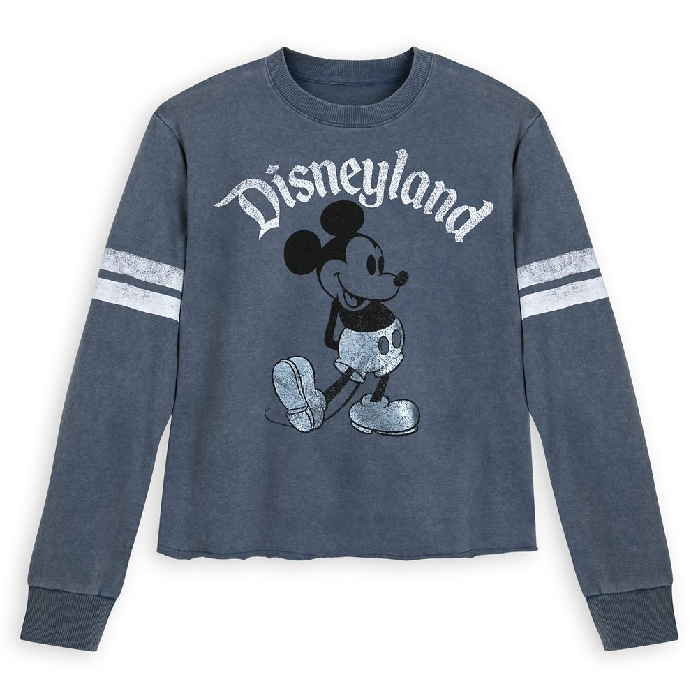 Mickey Mouse Football Jersey for Women – Disneyland – Blue