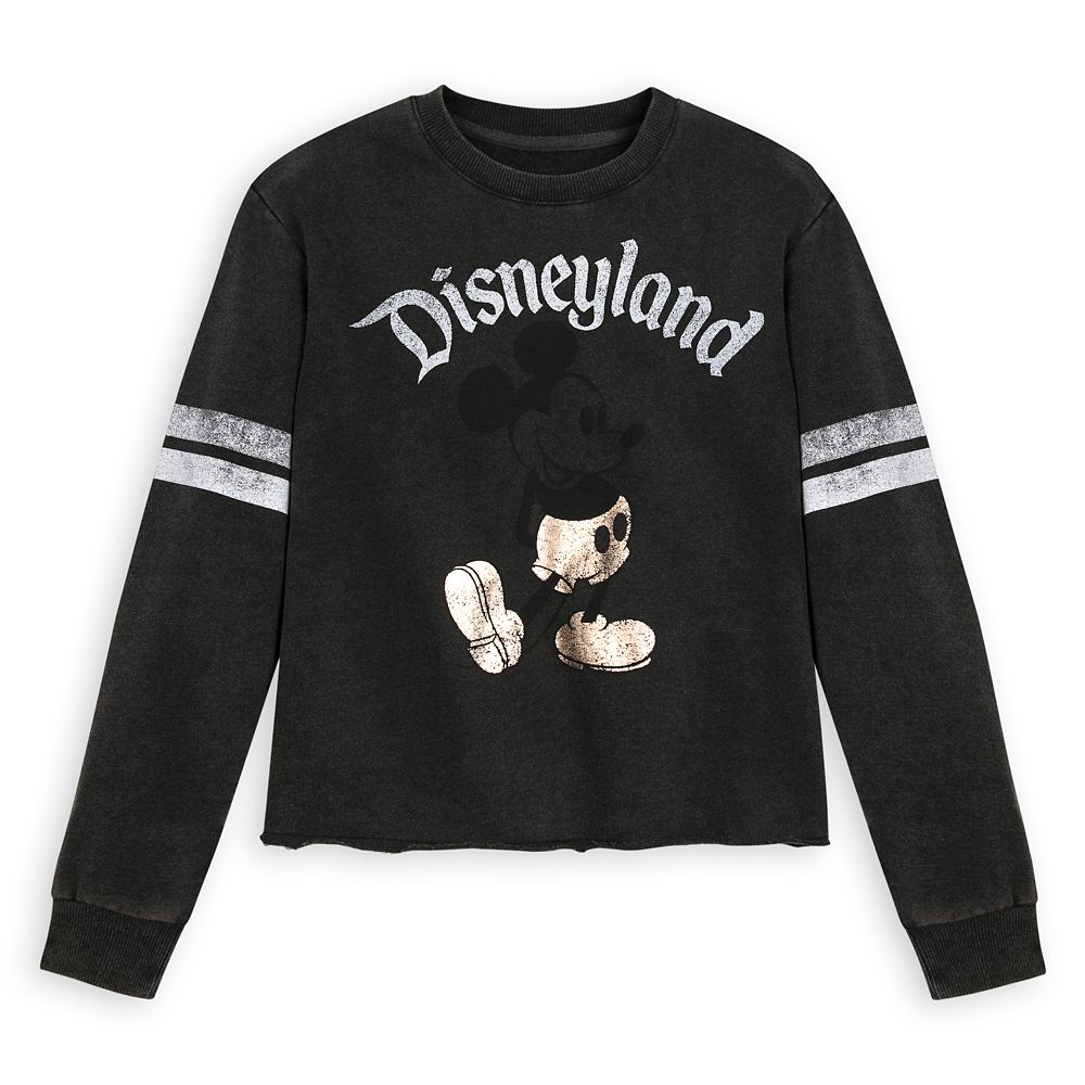 Mickey Mouse Football Jersey for Women – Disneyland – Black