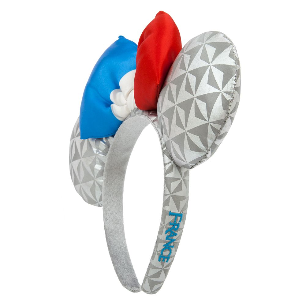 Epcot France Minnie Mouse Ear Headband for Adults