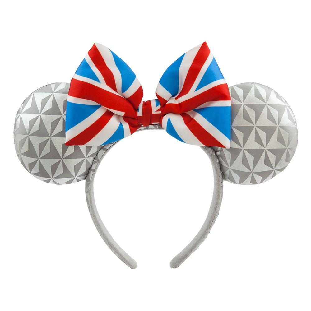 Epcot United Kingdom Minnie Mouse Ear Headband for Adults