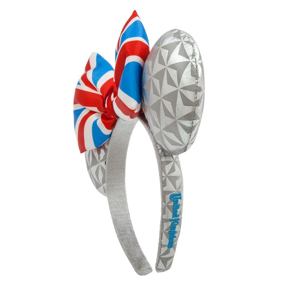Epcot United Kingdom Minnie Mouse Ear Headband for Adults