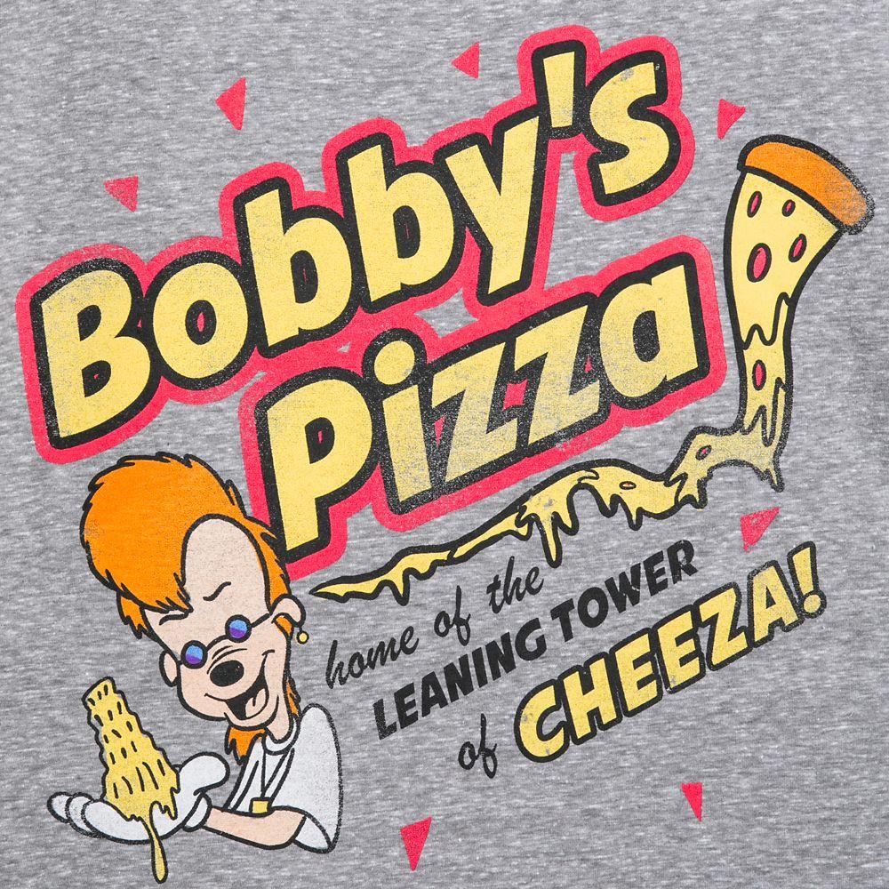 Bobby's Pizza T-Shirt for Men – The Goofy Movie