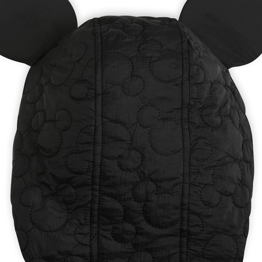 Mickey Mouse Icon Fleece Lined Quilted Jacket for Women