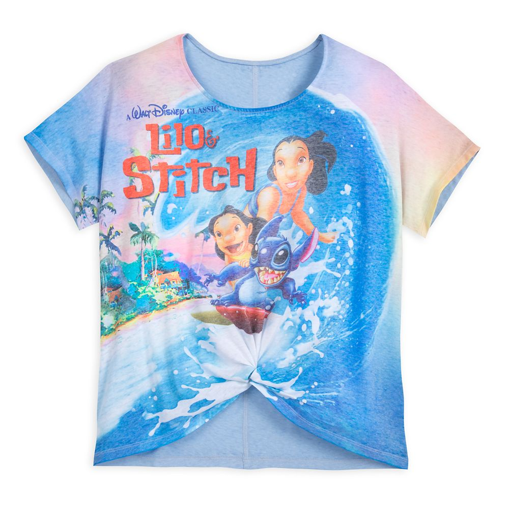 Lilo & Stitch VHS Case Fashion T-Shirt for Women