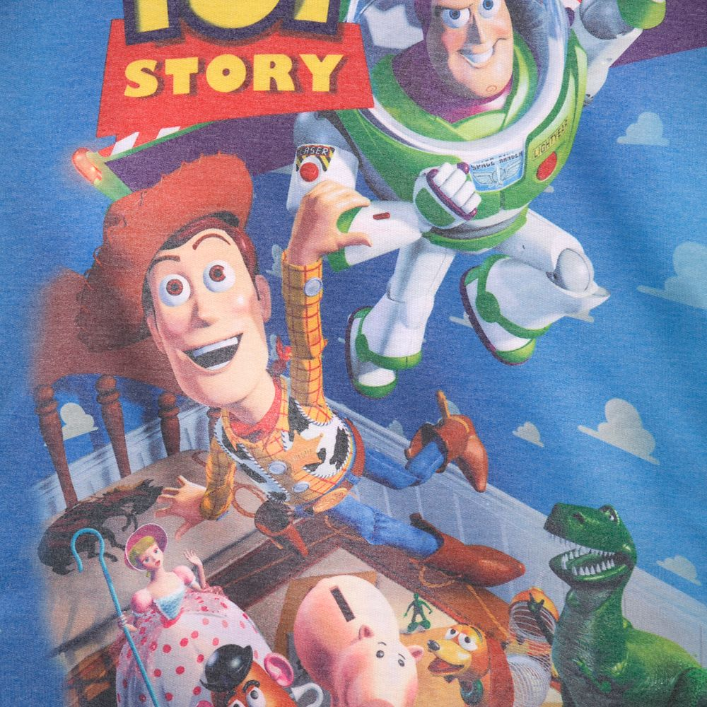 Toy Story VHS Case Long Sleeve Hooded T-Shirt for Women