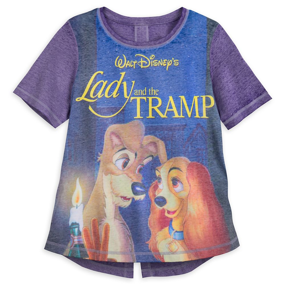 Lady and the Tramp VHS Case Fashion T-Shirt for Women