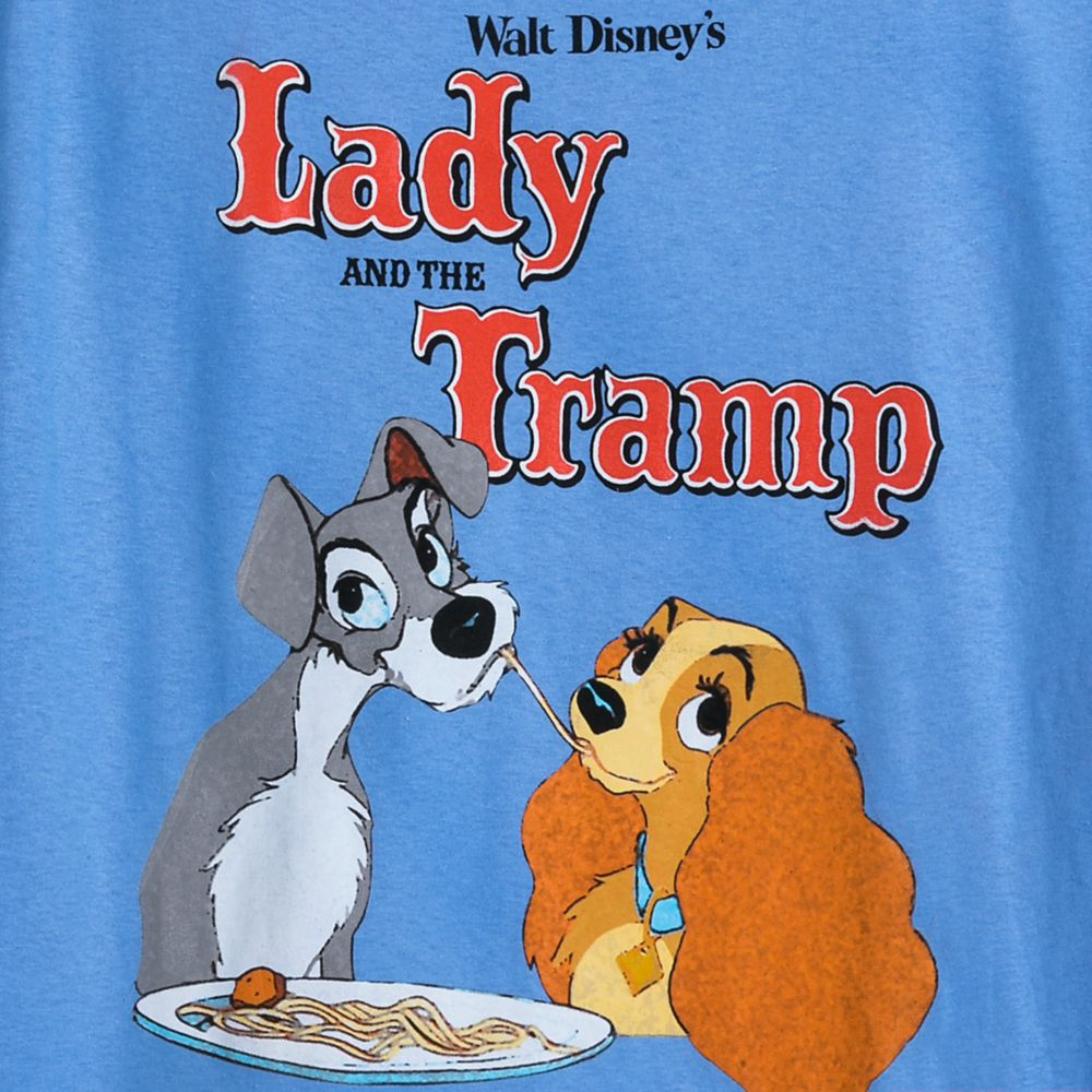 Lady and the Tramp T-Shirt for Adults