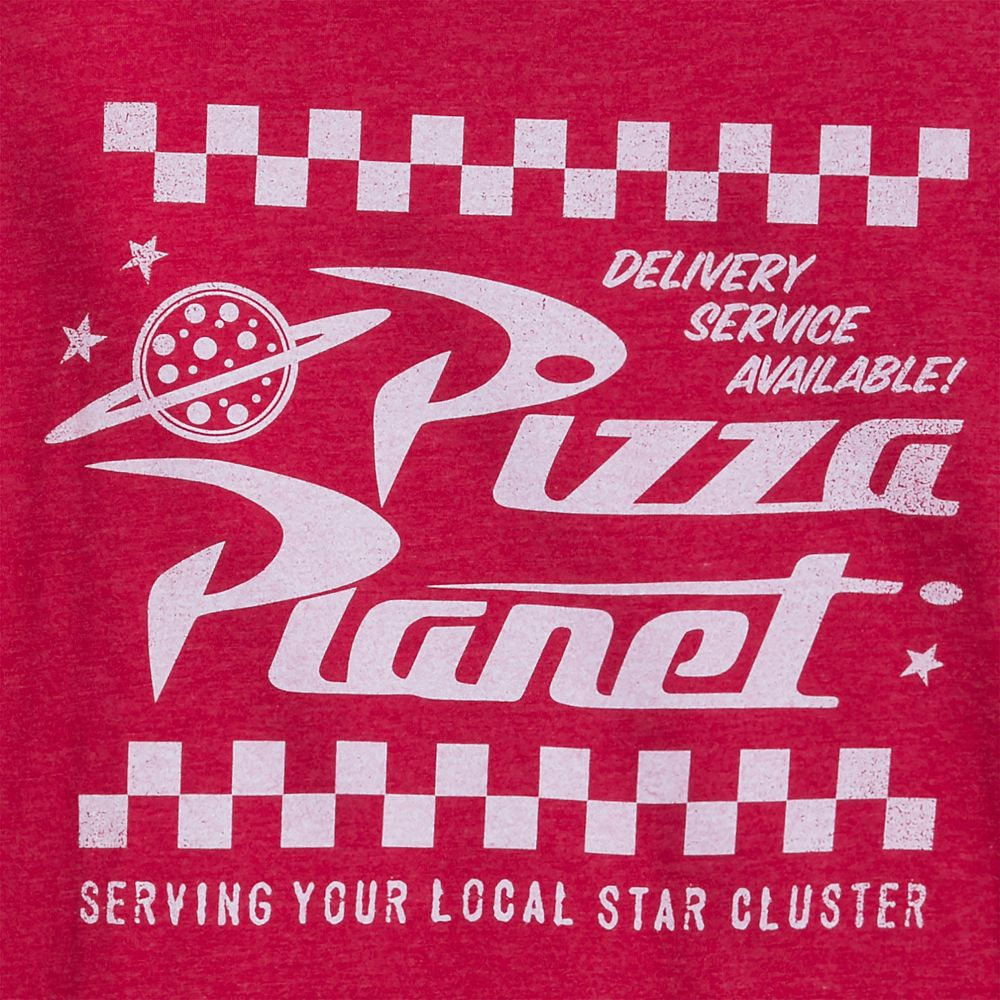 Pizza Planet Logo T-Shirt for Adults – Toy Story