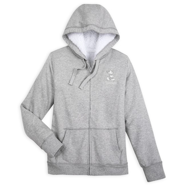 Mickey Mouse Fleece Lined Hoodie for Women – Disneyland