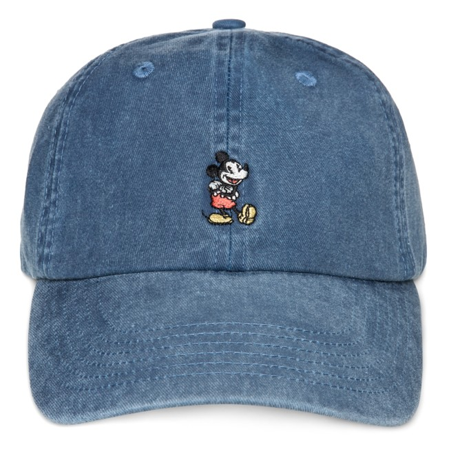 Mickey Mouse Denim Baseball Cap for Adults