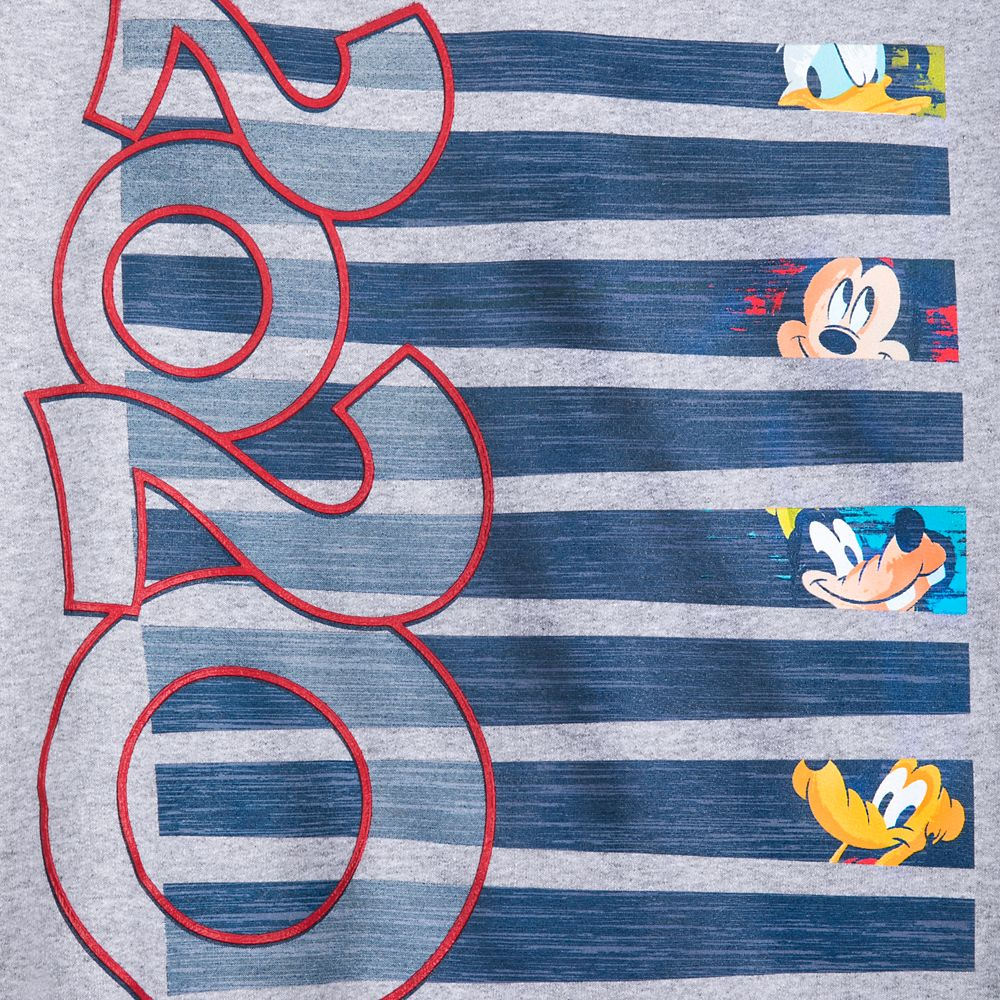 Mickey Mouse and Friends Sweatshirt for Adults – Disneyland 2020