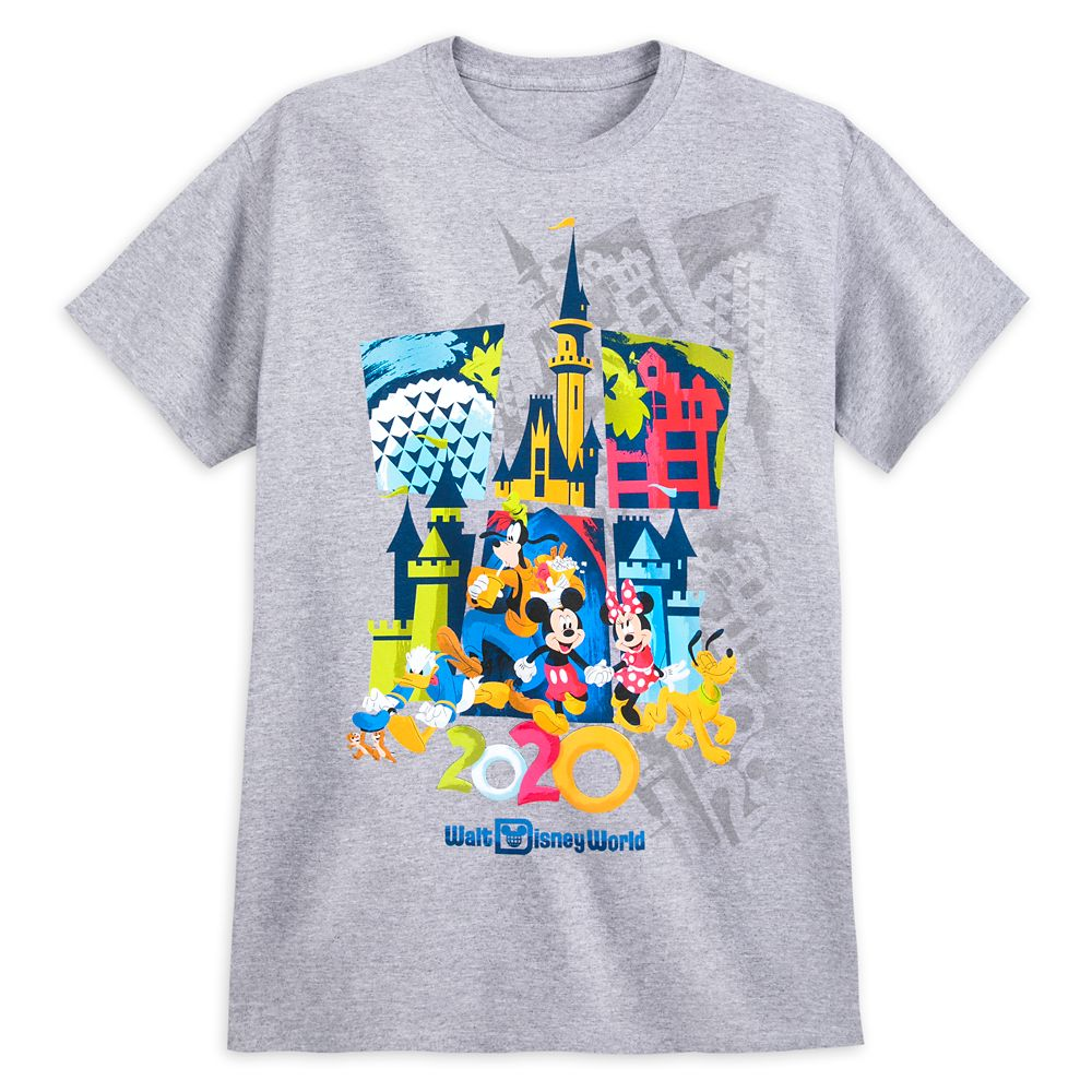 Mickey Mouse and Friends T-Shirt for Adults – Walt Disney World 2020