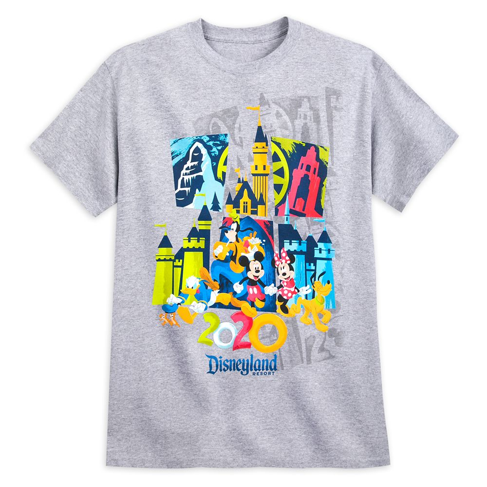 Mickey Mouse and Friends T-Shirt for Adults – Disneyland 2020