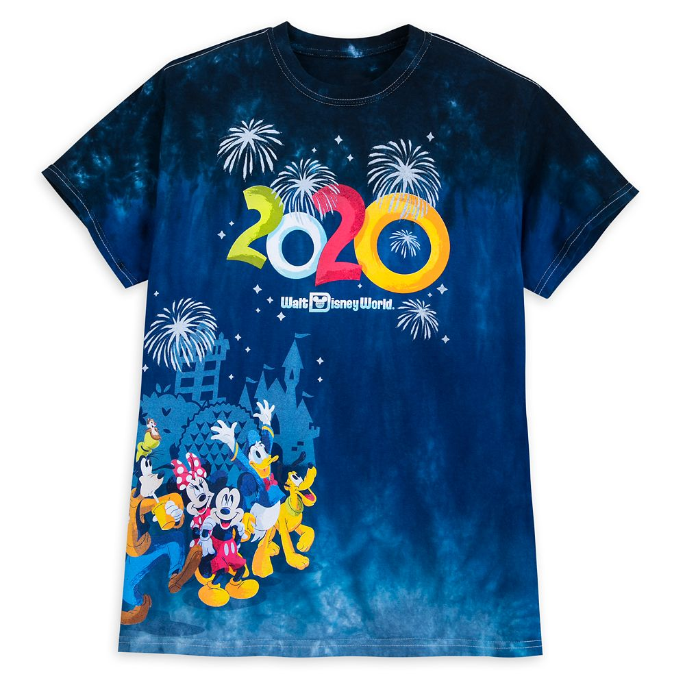 Mickey Mouse and Friends Dip Dye T-Shirt for Adults – Walt Disney World 2020