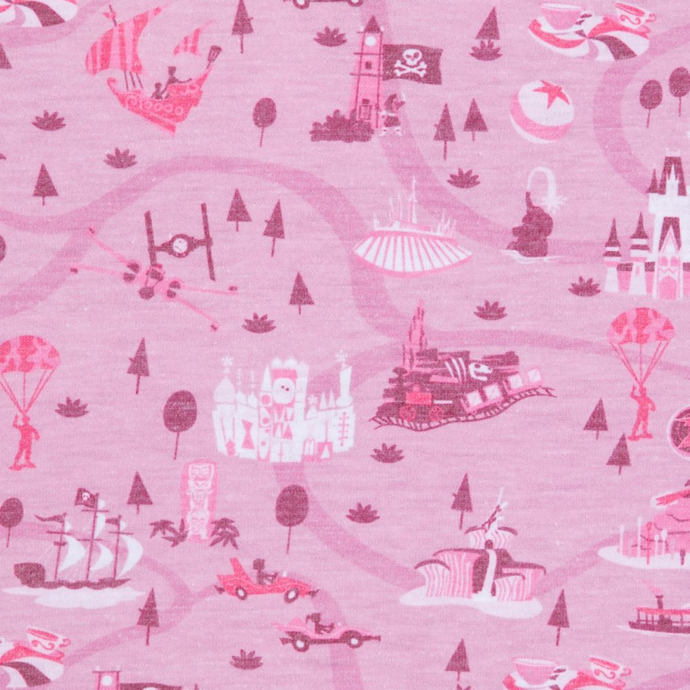 Disney Parks Retro Icons Polo Shirt for Adults