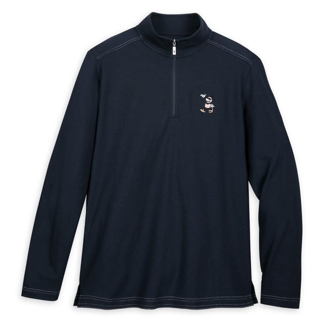 Mickey Mouse Long Sleeve Pullover for Men by Tommy Bahama – Navy