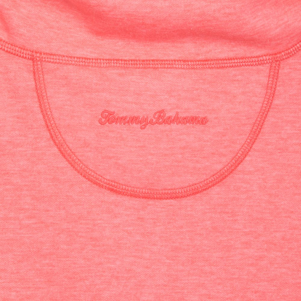 Minnie Mouse Cowl Neck Knit Jacket for Women by Tommy Bahama – Coral