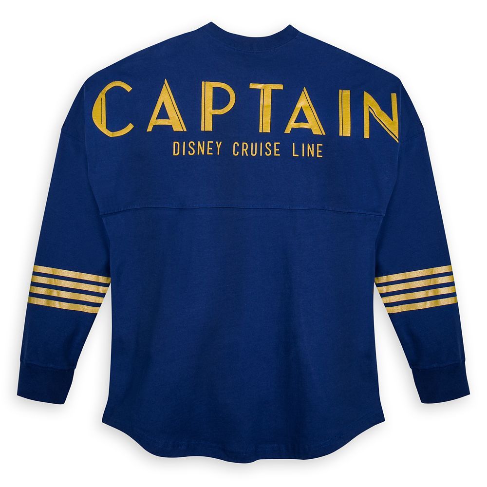 Mickey Mouse ''Captain'' Disney Cruise Line Spirit Jersey for Adults