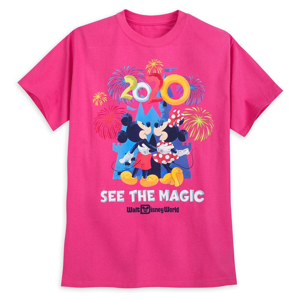 Mickey and Minnie Mouse T-Shirt for Adults – Walt Disney World 2020