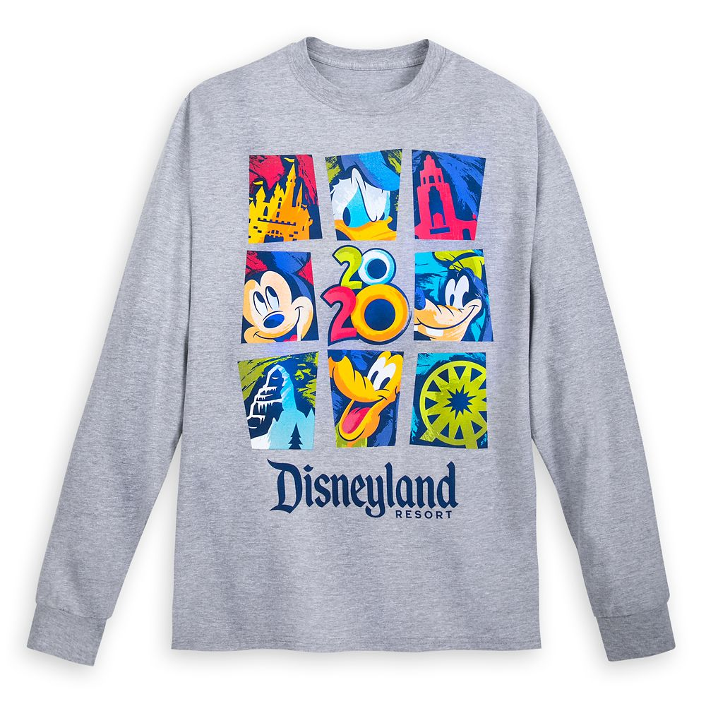 Mickey Mouse and Friends Long Sleeve T-Shirt for Adults – Disneyland 2020