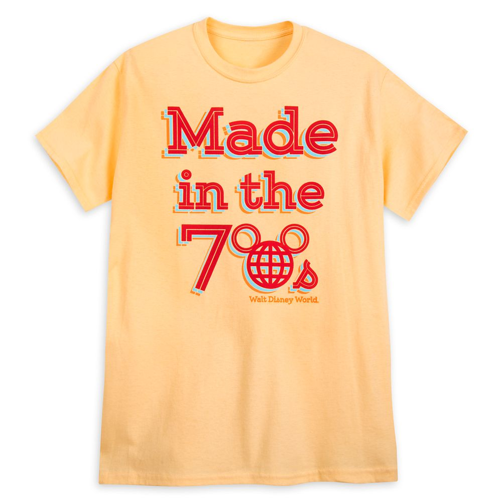 Walt Disney World ''Made in the 70s'' T-Shirt for Adults