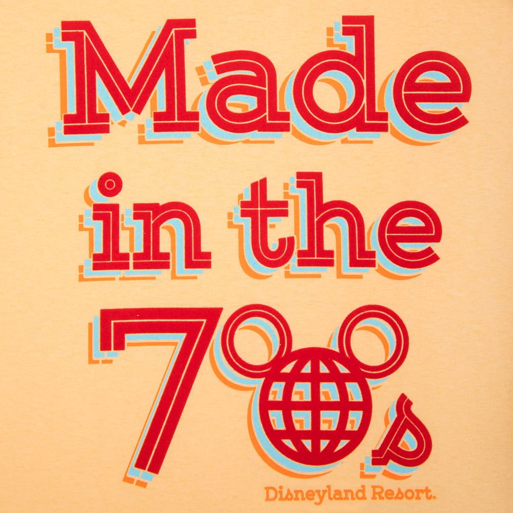 Disneyland ''Made in the 70s'' T-Shirt for Adults