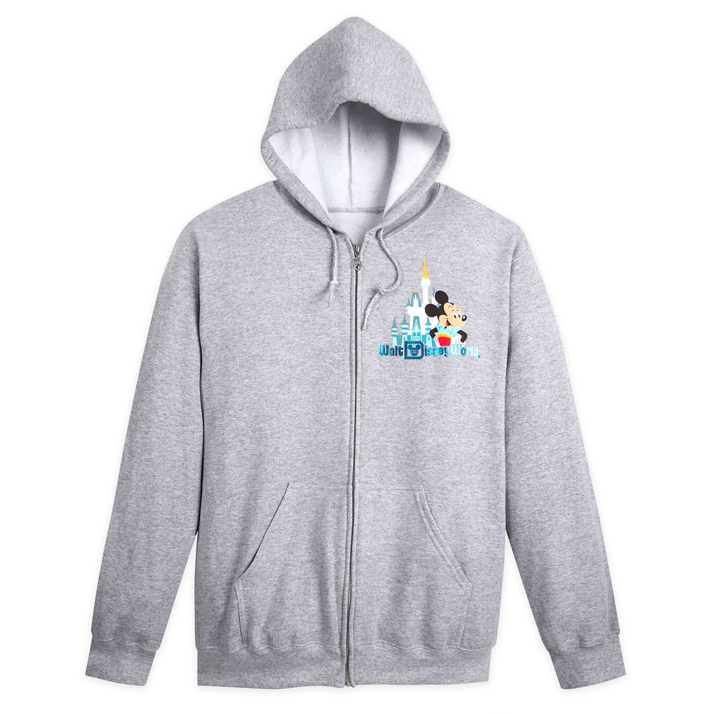 Mickey Mouse and Friends Zip-Up Hoodie for Adults – Walt Disney World