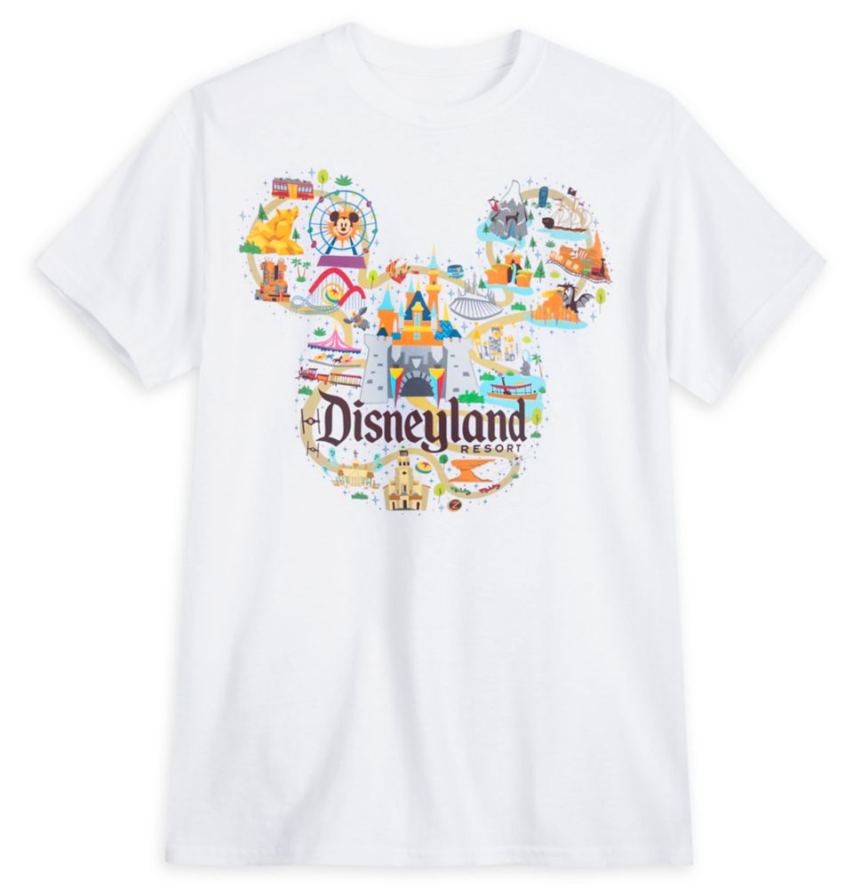 Disneyland Map T-Shirt for Adults – Park Life
