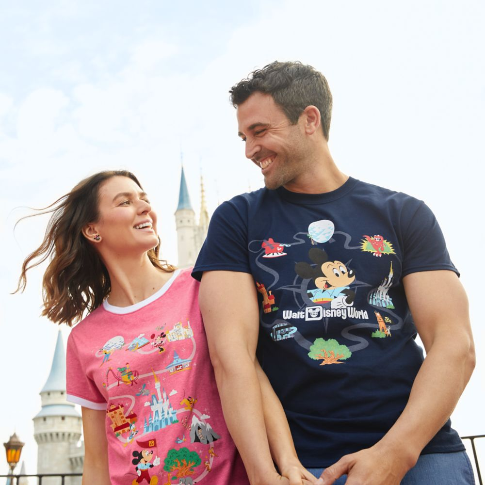 Mickey Mouse Retro T-Shirt for Adults – Walt Disney World
