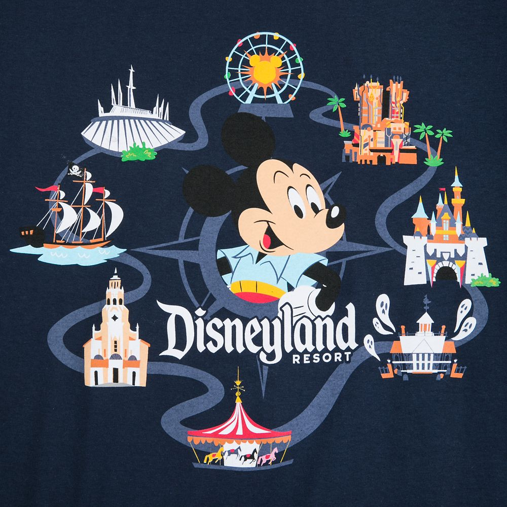 Mickey Mouse Retro T-Shirt for Adults – Disneyland