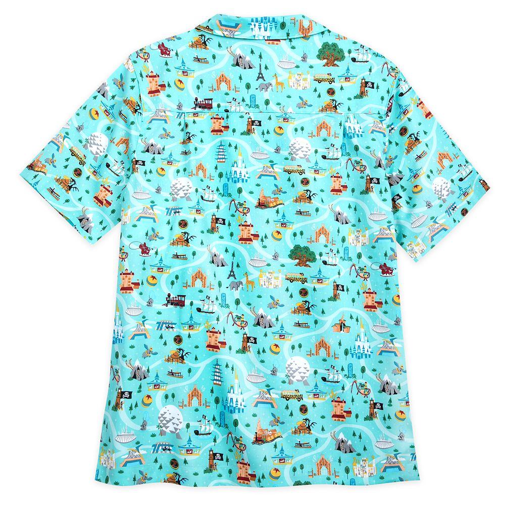 Disney Park Life Woven Shirt for Men – Walt Disney World