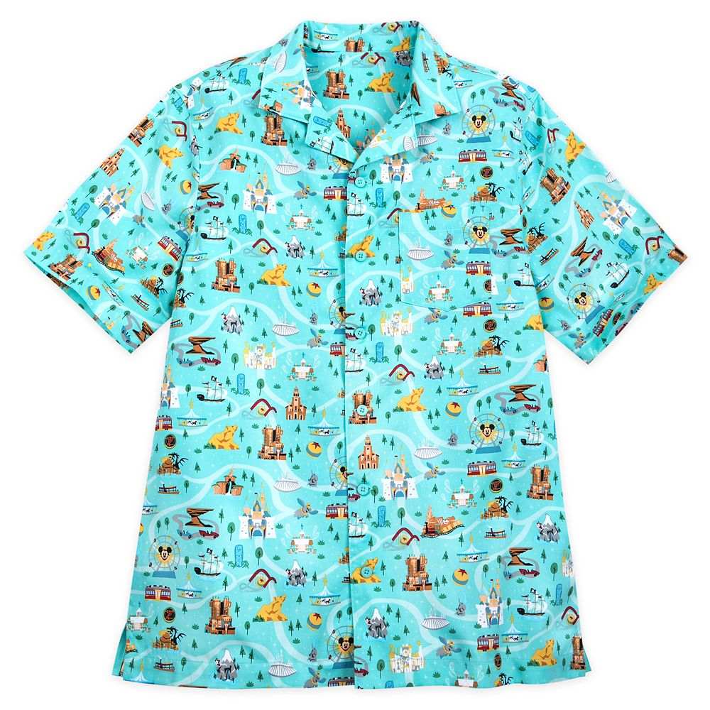 Disney Park Life Woven Shirt for Men – Disneyland