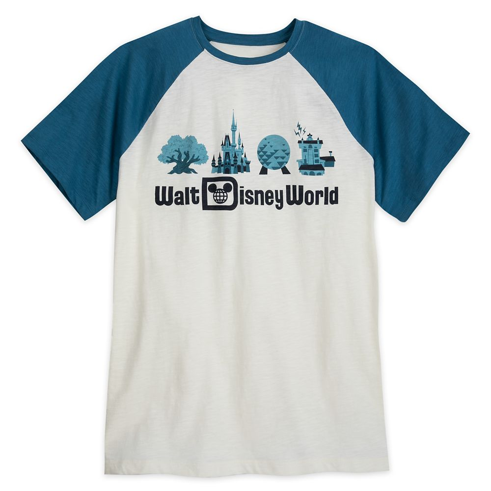 Walt Disney World Raglan T-Shirt for Men