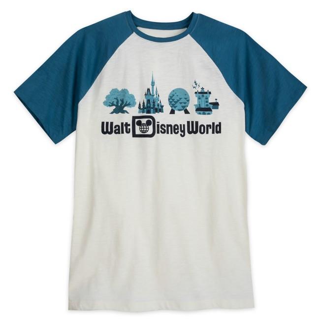 Walt Disney World Raglan T-Shirt for Men