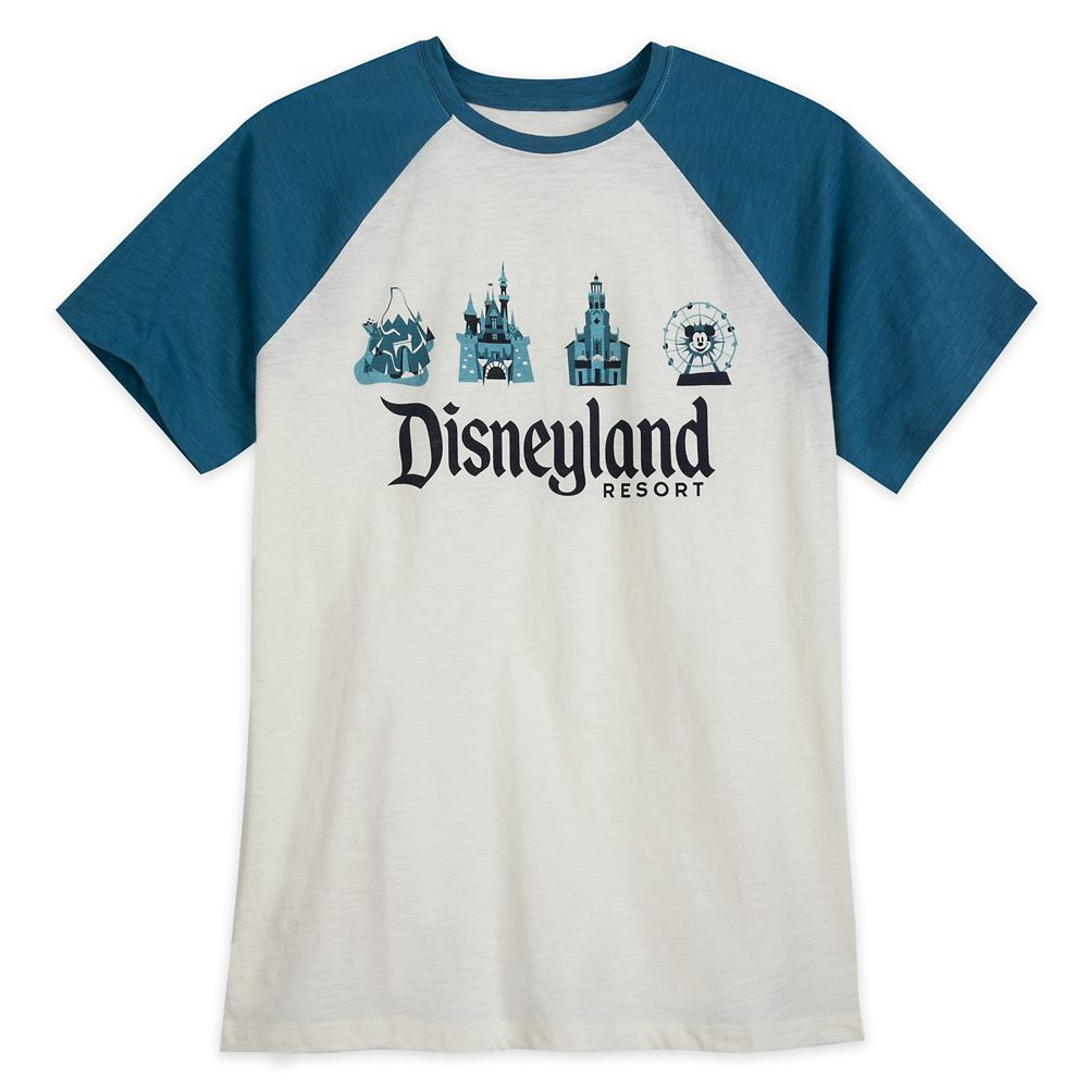 Disneyland Resort Raglan T-Shirt for Men